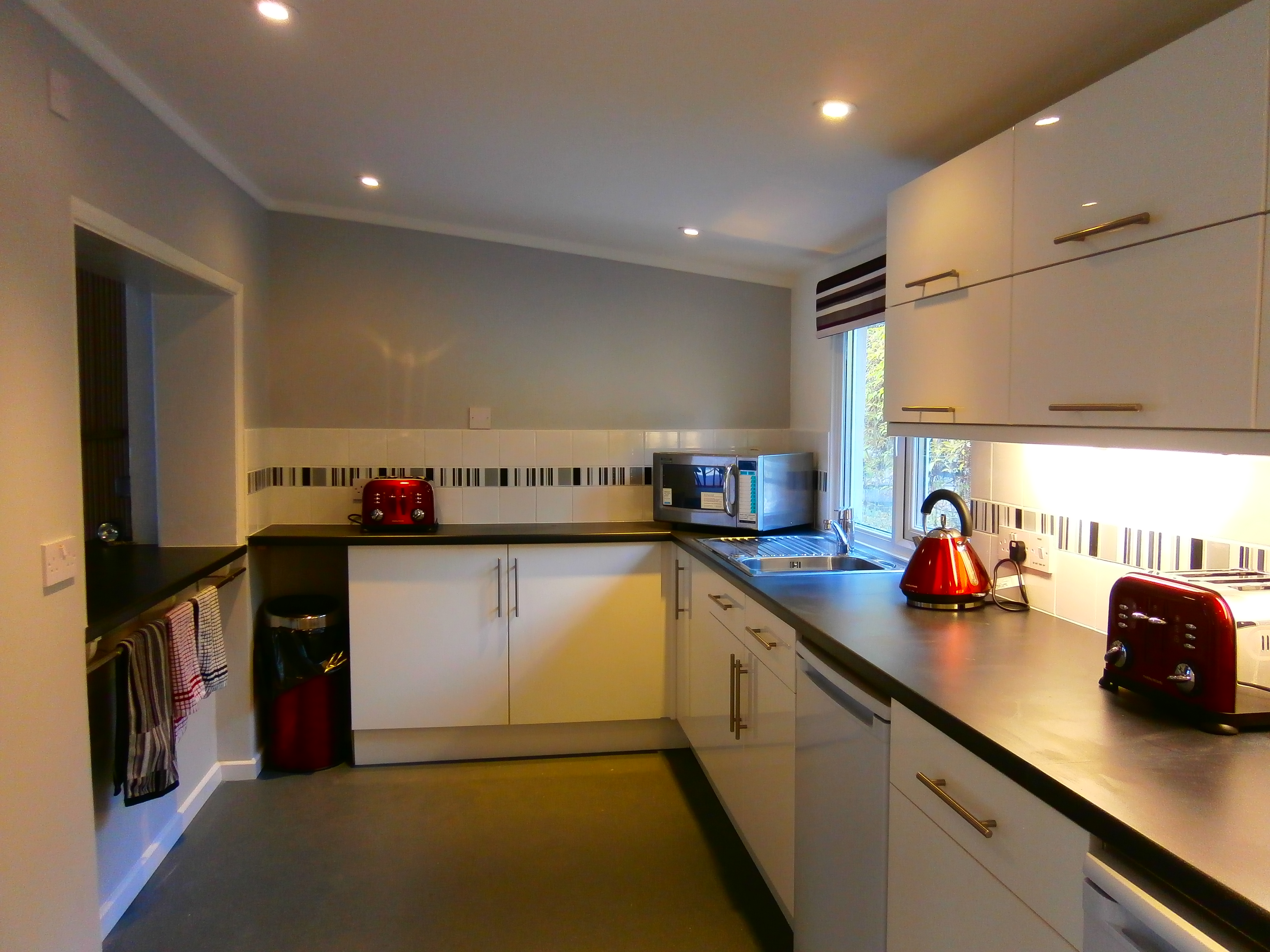 Refurbishment of old kitchen